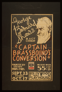 George Bernard Shaw S 3 Act Comedy  Captain Brassbound S Conversion  Image