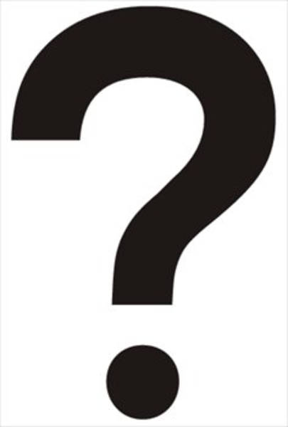 Question Mark | Free Images at Clker.com - vector clip art ... Question Mark Black And White Clip Art
