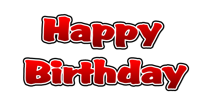 Happy Birthday   Free Images at Clker.com - vector clip ...