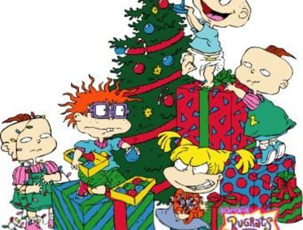 download this image as - Rugrats Christmas