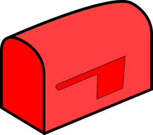 Red Mailbox Clip Art