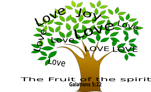Clipart Fruit Of The Spirit