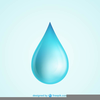 Free Water Drop Clipart Image