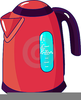 Electric Kettle Clipart Image