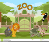 Animated Clipart Zoo Animals Image