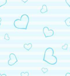 Blue Hearts Love Symbol Image