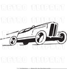 Black And White Clipart Of Race Cars Image