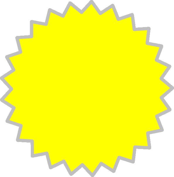 yellow starburst clipart - photo #11