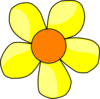 Yellow Flower Clip Art