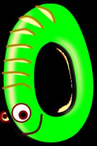 Zero Green Clip Art at Clker.com - vector clip art online, royalty ...