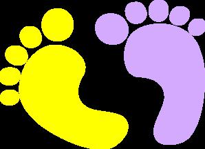 baby feet clip art at clker com vector clip art online royalty rh clker com clip art footsteps clip art footprints