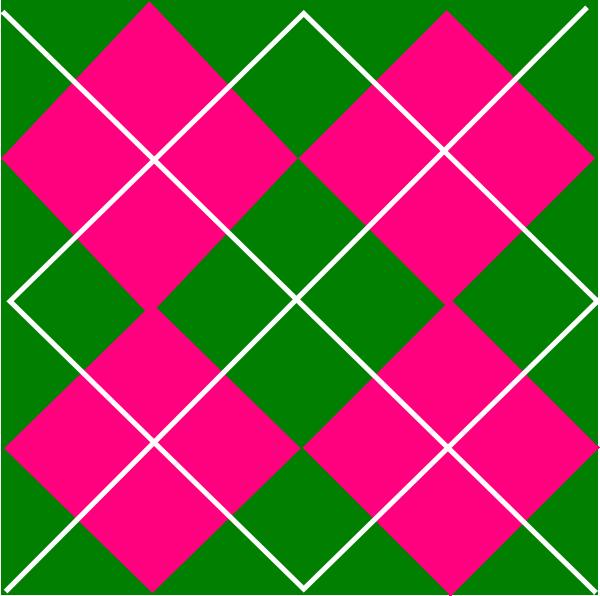 Pink Green Plaid Clip Art At Vector Clip Art