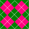 Pink & Green Plaid Clip Art