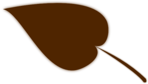 Brown Leaf Clip Art