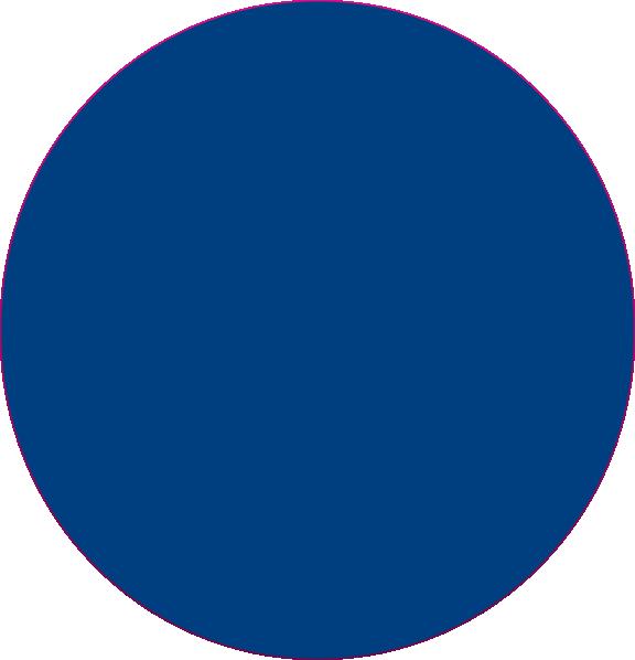 blue circle clip art - photo #5