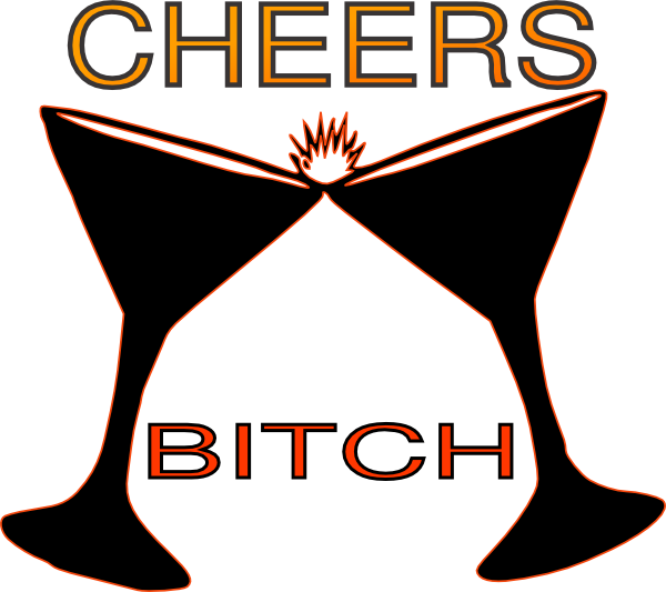 cheers bitch clip art at clker com vector clip art online royalty rh clker com cheers clipart black and white cheers clipart free