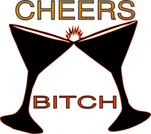Cheers Bitch Clip Art at Clker.com - vector clip art online ...