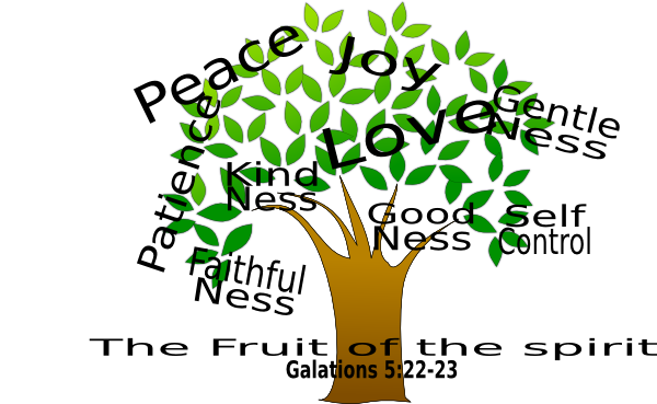 The Fruit Of The Spirit Clip Art at Clker.com - vector clip art online ...