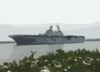 Uss Boxer (lhd 4) Pulls Into San Diego Harbor Clip Art