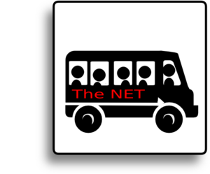 The Net Bus Clip Art