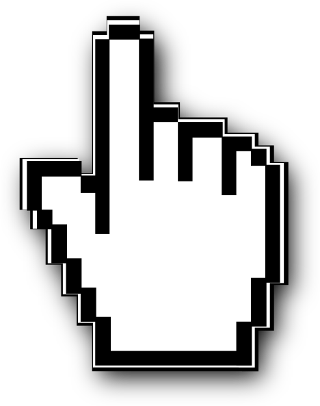 Mouse hand cursor png - photo#5