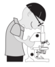 Scientist Microscope Clip Art