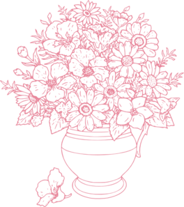 bouquet of flowers clip art