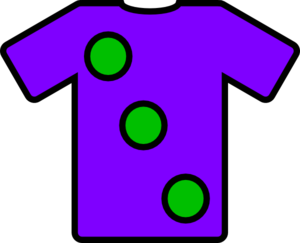 Purple Green Tshirt Clip Art