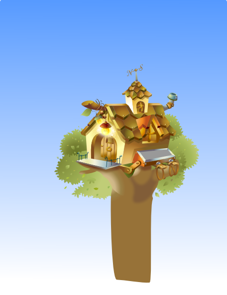 clipart pictures tree house - photo #39