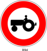 Tractor Sign Clip Art