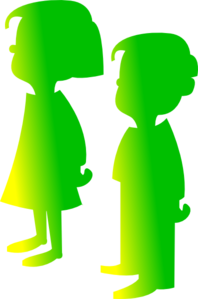 Figures Boy And Girl 3 Clip Art