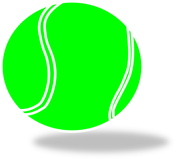 tennis ball clip art at clker com vector clip art online royalty rh clker com tennis ball clip art banner tennis ball clipart no background