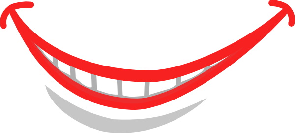 teeth smile clip art. Smile With Teeth