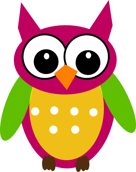 purple green owl clip art at clker com vector clip art online rh clker com Science Experiment Clip Art Wise Owl Clip Art