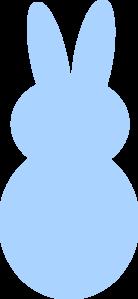 blue peep bunny clip art at clker com vector clip art peeps clip art free peeps clip art color