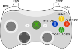 Xbox Controller - Teach Youth How To Dribble Clip Art