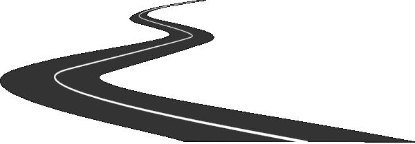 Curving Road Clip Art at Clker.com - vector clip art ...