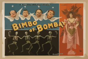 A Magical Musical Comedy, Bimbo Of Bombay Clip Art