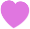 Light Purple Heart Clip Art