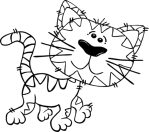 Cat Simple Clip Art