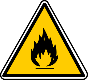 Warning Fire Clip Art
