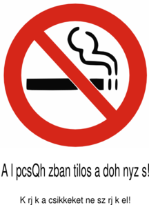 No Smoking Lph Clip Art