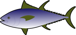 Tuna Fish Clip Art