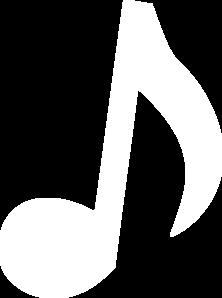 Eighth Note Tattoo White Music Note 2 Cli...