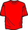 Red T-shirt Clip Art
