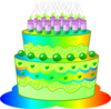 Birthday Cake E Image
