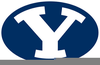 Byu Cougars Clipart Image