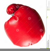 Clipart Boxing Glove Throwing Punch Image