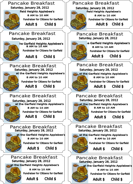 Pancake Breakfast Clipart Pancake breakfast clip art
