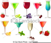 Free Clipart Of Cocktail Party Image